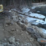 Bank Stabilization - Rock Walls in Leavenworth and Wenatchee area