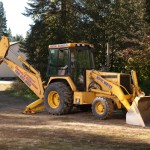 Backhoe for excavation in Leavenworth and Wenatchee area