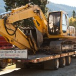 Excavator for Excavation in Leavenworth and Wenatchee area